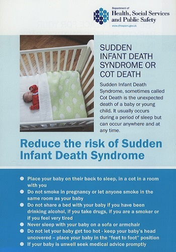 REDUCE THE RISK OF SUDDEN INFANT DEATH SYNDROME (Cot Death) (Nov 2012)