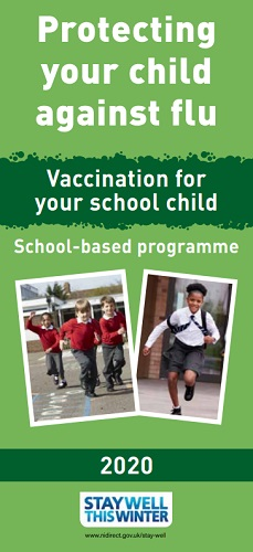 PROTECTING YOUR CHILD AGAINST FLU: Vaccination for your primary school child (July 20)