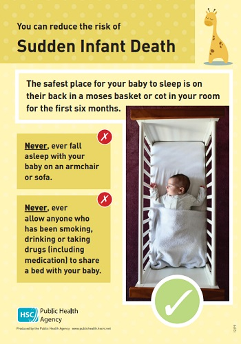 Safer sleeping – Reducing the risk of sudden infant death