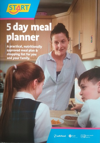 START 5 Day Meal Planner